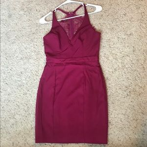 PromGirl Dresses - Maroon PromGirl Dress